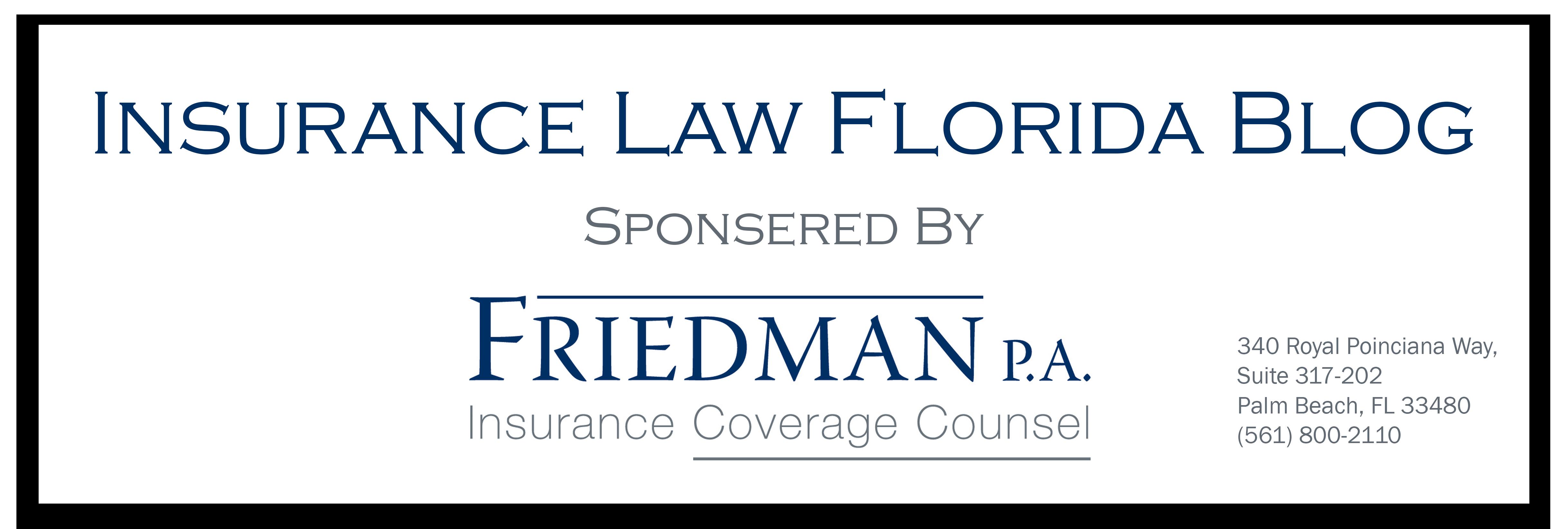 Insurance Law Florida